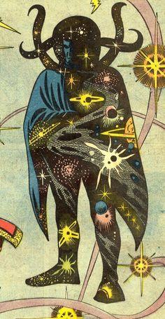 lifeascomics: from Ditko to Colan Eternity calls Old Comics, Vintage Comics, Vintage Art, Art Pulp Fiction, Science Fiction Art, Comic Books Art, Comic Art, Pop Art, Arte Alien