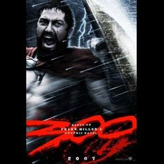 300 Movie Poster with Gerard Butler Film Movie, 300 Movie, Love Movie, Movie List, All Movies, Action Movies, Great Movies, Movies To Watch, Latest Movies