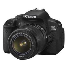 Canon EOS 650D Digital SLR Camera with 18-55mm Lens