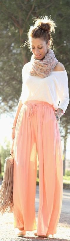 Soft and Flowy. This is so cute!