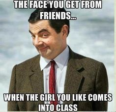 The Face I Get From Friends ..
