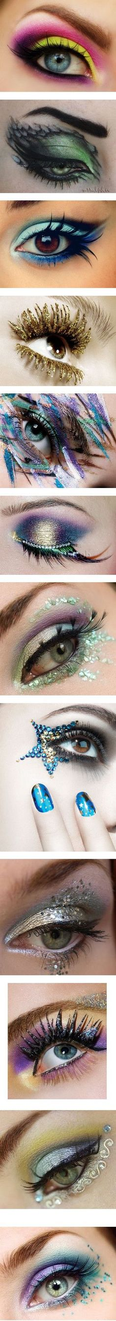 Capitol Make-up by shanayaswonderland on Polyvore featuring beauty products, makeup, eye makeup, eyeshadow, eyes, beauty, backgrounds, pictures, people and maquillaje
