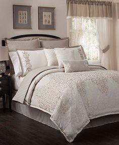 Aubrey 22 Piece California King Comforter Set - Bed in a Bag - Bed & Bath - Macy's