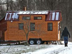 2 adults, 1 child, a dog: Life in a 160-square-foot tiny house