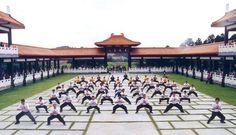 Cotia. Templo Zu Lai. Associação Pak Shao Lin de Kung Fu. No templo Zu Lai há diversos cursos como: Meditação,  filosofia Budista, Tai Chi Chuan e também Kung Fu.
