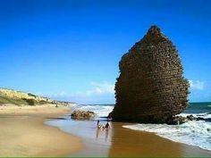 Huelva, playa de Mazagon