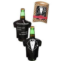 Bachelor Party Gift Bottle Freezable Cooler