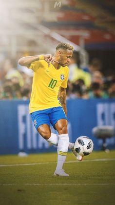Neymar j r football wallpapers Brazil Football Team, Neymar Football, Football Is Life, Neymar Jr Wallpapers, Sports Wallpapers, Good Soccer Players, Best Football Players, Cr7 Messi, Mbappe Psg