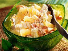 Salade créole, facile : recette sur Cuisine Actuelle