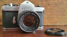 Honeywell Pentax Spotmatic 35mm Single Lens Reflex Camera   Honeywell Pentax 35 mm Camera  $19.99 starting bid  #honeywell #pentax #35mm #vintagecamera #photography