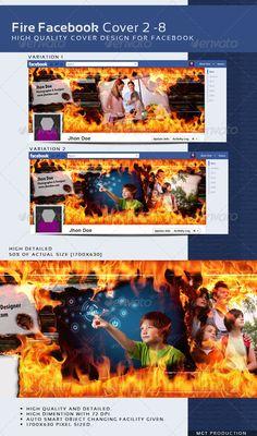Fire Facebook Timeline Cover 2 - 8