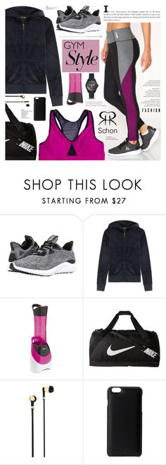 """""""Gym Style - Schon 2"""" by cly88 ❤ liked on Polyvore featuring adidas, Juicy Couture, Oster, NIKE, Master & Dynamic, Knomo and FOSSIL"""
