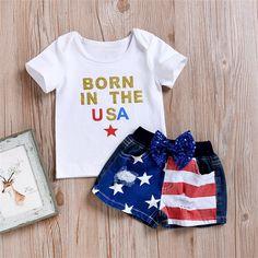 Lanhui 2pcs Toddler Kids Baby Boys Embroidery Cartoon T Shirt Tops Shorts Set