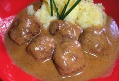 Svéd húsgolyók barnamártással