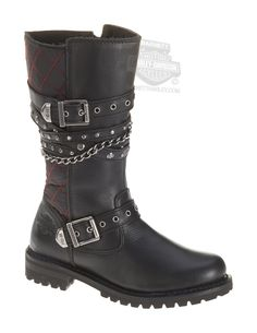 It's named Stacy! It's like it was meant to be! ;-)  Harley-Davidson® | 87045 | Harley-Davidson® Womens Stacy Black Leather High Cut Boot