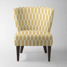 Veronica Taper Leg Chair - Prints | West Elm