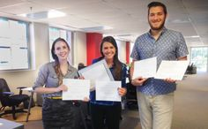 Our #Awesome design team with their awards from GDUSA. Read more about the design awards at GNGF.com  #GNGF #design