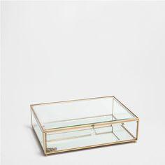 DOORZICHTIGE GLAZEN DOOS - | Zara Home Holland