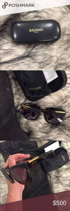 8003599c803c 😎BALMAIN PARIS Large Sunglasses 😎 NWT, These sunglasses are the real  deal. Honestly