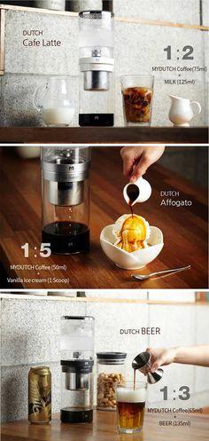 Beanplus Cold Brew Dutch Coffee Maker Water Drip Coffee 550mL 3Colors My Dutch