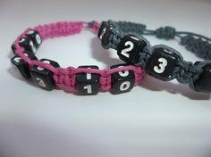 Couples anniversary bracelet set // hemp bracelet / hemp #hempjewelry by CaliGirlCustoms https://www.etsy.com/listing/209299051/couples-anniversary-bracelet-set-hemp