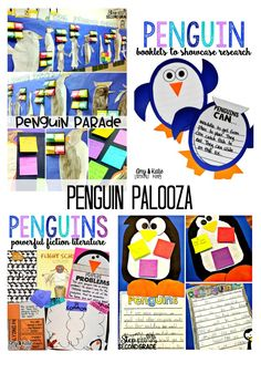 Have some penguin fun with these penguin units!