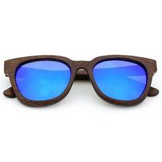 Retro Cat Eye Bamboo Sunglasses