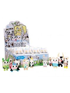 Moofia Blind Box vinyl figures rerelease - Tokidoki (Finally! I love the Moofias!)