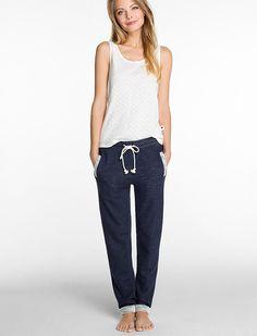 Cotton pants and top, Esprit