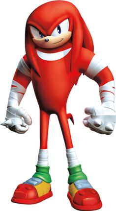 Knuckles the Echidna..?   Takes some getting used to.