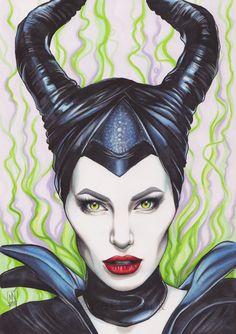 Maleficent by Kattvalk on DeviantArt