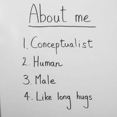Info about me