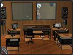 /Around the Sims 2 | Objects | Downtown | Recording Studio