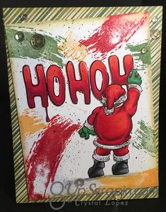 It's Crystal here I hope you had a very Blessed Holiday and are now ready to make some Christmas card to send out . Graffiti Designs, Graffiti Art, Banksy, Backdrops, Christmas Cards, Street Art, Invitations, Holiday, Handmade