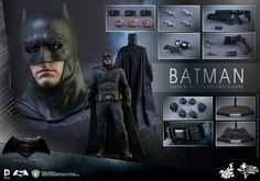 BvS: Dawn of Justice 1/6th scale Batman Collectible Figure.