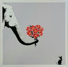 The elephant and the mouse.