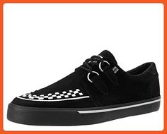 61ea70dd6607c Buy the Black Suede White Interlace VLK Sneaker Style from the official T.  Get fast shipping and the best selection anywhere!