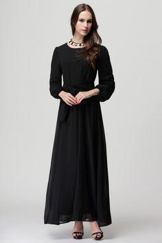2014 Fashion Muslim Dresses female islamic garment Five colors ethnic costume Malay Muslim Clothing Long Dress - http://thekopf.com/products/2014-fashion-muslim-dresses-female-islamic-garment-five-colors-ethnic-costume-malay-muslim-clothing-long-dress/
