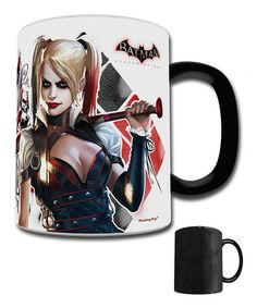 Look at this #zulilyfind! Harley Quinn Arkham Knight Heat-Activated Morphing Mug by Trend Setters #zulilyfinds