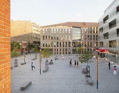 Olympe de Gouges Marketplace + Allée des Ateliers urbanization (Pantin, 93) - Ateliers 2/3/4/ + Agate Mordka