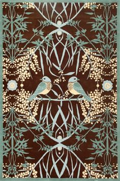 Catherine Martin, Acacia - Rug Collections - Designer Rugs - Premium Handmade rugs by Australia's leading rug company.  We love this at LILY Magazine. Get the Gatsby look in your home with our story on Gatsby's Art Director and Costume Designer Catherine Martins collection with Mokum Textiles at  www.lifeandstyleonadime.com