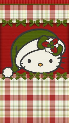 #christmas #wallpaper #iphone #android #happy #holiday #hello_kitty