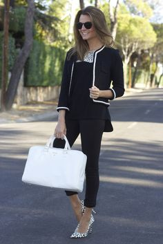 – Outfit Inspiration & Ideas for All Occasions Casual Work Outfits, Work Casual, Jean Outfits, Casual Chic, Cool Outfits, High Heel Models, Outfit Elegantes, Office Fashion, Plus Size Fashion
