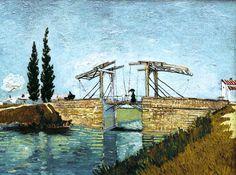 Vincent Van Gogh - Die Zugbrücke - jetzt bestellen auf kunst-fuer-alle.de