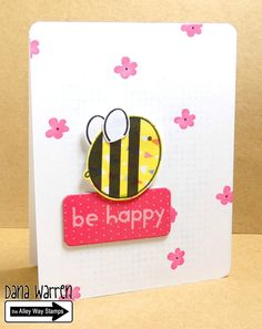 The Alley Way Stamps - Dana Warren - TAWS - Clear Stamps Cards - Bee Unique