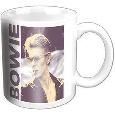 David Bowie Boxed Premium Mug: Smoking Wholesale Ref:BOWMUG03