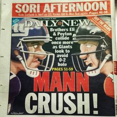 Let's go Eli! Go Big Blue, G Man, New York Giants, Sports Teams, I Am Awesome, Football, Baseball Cards, Soccer, Futbol