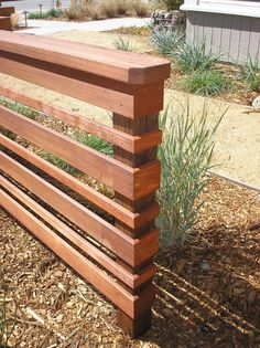 Reclaimed Redwood Fence Boards