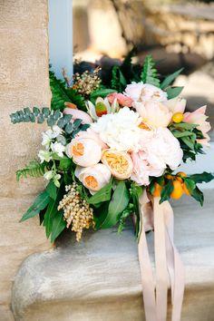 Desert inspired bridal bouquet