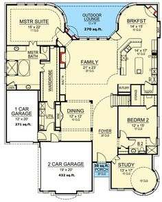 5 Bed Luxury With Dramatic Study - 36410TX   1st Floor Master Suite, Butler Walk-in Pantry, CAD Available, Corner Lot, Den-Office-Library-Study, European, Media-Game-Home Theater, PDF   Architectural Designs